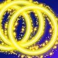Free Light Rings Royalty Free Stock Photos - 16560538