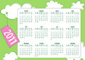 Free Calendar For 2011 Stock Images - 16560944