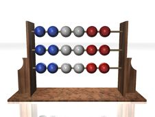 Free Abacus France Flag Royalty Free Stock Images - 16560279