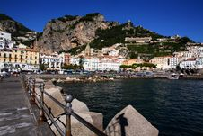 Free South Italy: Amalfi Royalty Free Stock Photography - 16560487