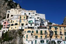 Free South Italy: Amalfi Stock Photo - 16560530