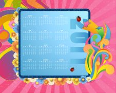 Free Calendar For 2011 Royalty Free Stock Images - 16560909