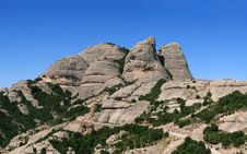 Free Mountain Montserrat Royalty Free Stock Images - 16561019