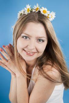 Free Beautiful Woman Smiles Royalty Free Stock Image - 16561086