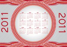 Free Calendar For 2011 Stock Photo - 16561120