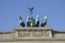 Free Brandenburg Gate Royalty Free Stock Images - 16561169