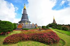 Free Queen Stupa At The Peak Of Doi Inthanon Stock Images - 16561454