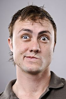 Free Silly Funny Face Stock Photography - 16561512