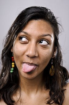 Free Silly Funny Face Royalty Free Stock Photos - 16561588