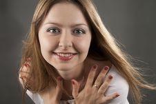 Free Beautiful Woman Smiles Stock Photography - 16561652
