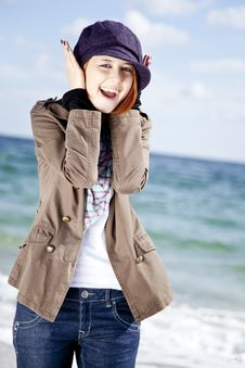 Free Fashion Young Women At The Beach In Sunny Day. Royalty Free Stock Photos - 16562288