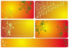 Free Floral Banners Royalty Free Stock Images - 16562469