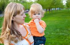 Free Happy Mother And Little Son Stock Photography - 16563592