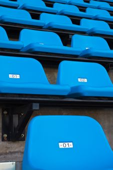 Free Blue Seat Royalty Free Stock Images - 16563769