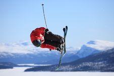 Free Ski Jump Stock Photography - 16563912