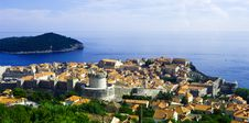 Free View Of The Old City Of Dubrovnik. Croatia Stock Image - 16564181