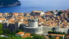Free View Of The Old City Of Dubrovnik. Croatia Stock Photography - 16564182