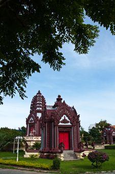 Free Thai Sculptures. Stock Images - 16564354