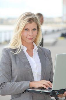 Free Portrait Of Beautiful Businesswoman Royalty Free Stock Photos - 16564398