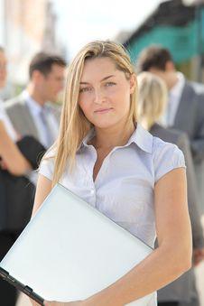 Free Portrait Of Businesswoman Stock Photos - 16564423