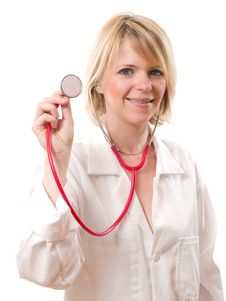 Free Doctor With Stethoscope Stock Photo - 16565600