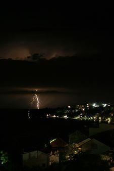 Free Lightning Stock Photography - 16566372