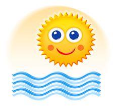 Free Summertime Cartoon Sketch Royalty Free Stock Photo - 16566545