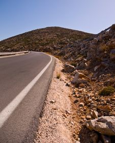 Free Empty Highway Road . Royalty Free Stock Images - 16569349