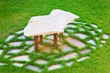 Free Stone Table Royalty Free Stock Photos - 16569578