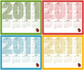 Free Calendars For 2011 Royalty Free Stock Photography - 16573367