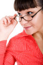 Free Woman With Glasses Royalty Free Stock Images - 16573749