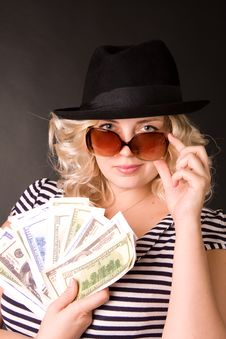 Photo Of Beautiful Young Woman Of Blonde Royalty Free Stock Images