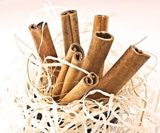 Free Cinnamon. Royalty Free Stock Photography - 16572697