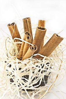 Free Cinnamon. Stock Image - 16572711