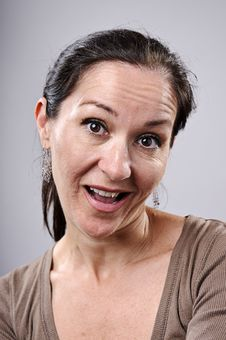 Free Silly Funny Face Royalty Free Stock Images - 16573119