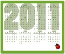 Free Calendar For 2011 Stock Photos - 16573153