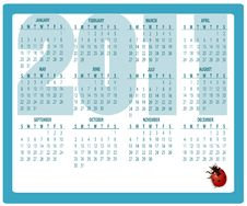 Free Calendar For 2011 Royalty Free Stock Image - 16573196