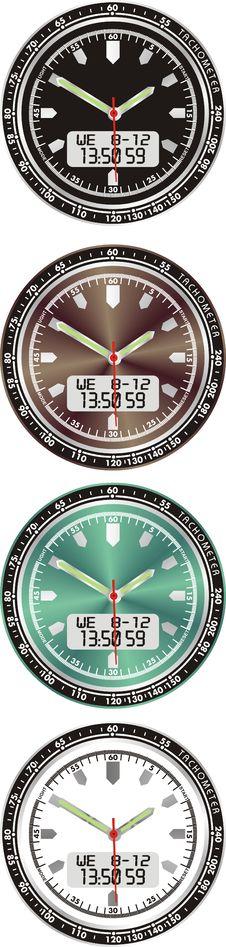 Free Electronic Watch Stock Photo - 16573560