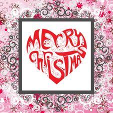 Free Christmas Frame Royalty Free Stock Photos - 16573948