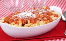 Free Penne Pasta Royalty Free Stock Images - 16574089