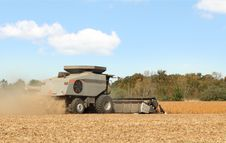 Free Combining Soybeans Royalty Free Stock Photos - 16574388