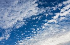 Free White Cumulus Clouds Royalty Free Stock Photos - 16574398