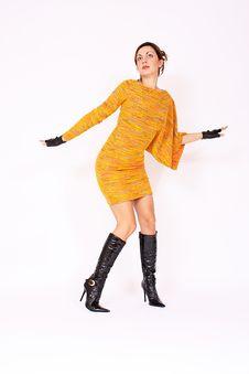 Free Woman In Winter Dress Stock Photos - 16574613