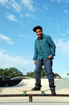 Free Skater 8 Royalty Free Stock Photography - 16575987