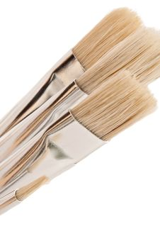 Free Artist Brush Set. Stock Photography - 16576212