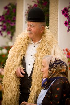 Free Old Couple Portrait Royalty Free Stock Photos - 16576308