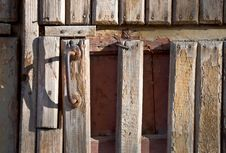 Free Old Wooden Door Royalty Free Stock Image - 16577256