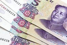 Free Chinese Money - Five Yuan Stock Photos - 16578073