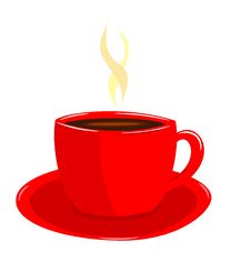 Free Coffee In Red Cup Royalty Free Stock Images - 16578149