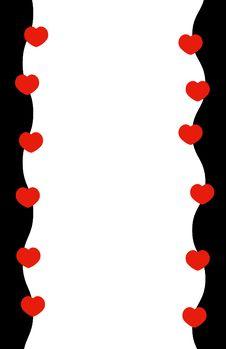 Free Hearts & Border Stock Photo - 16578630
